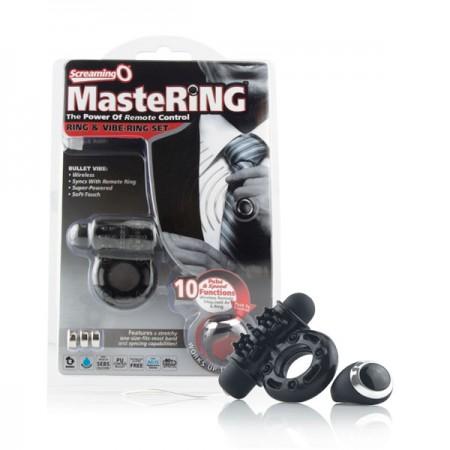 The Screaming O MasteRing Ring & Vibrating Ring Set