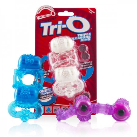 The Screaming O TriO Vibrating Ring