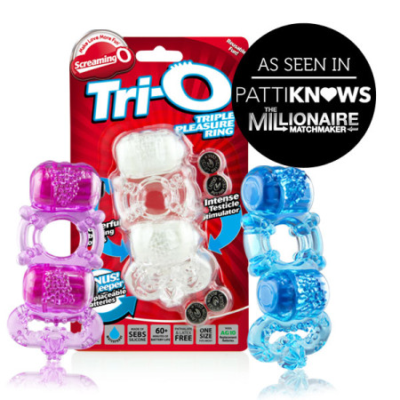 Screaming O Tri-O Triple Pleasure Ring