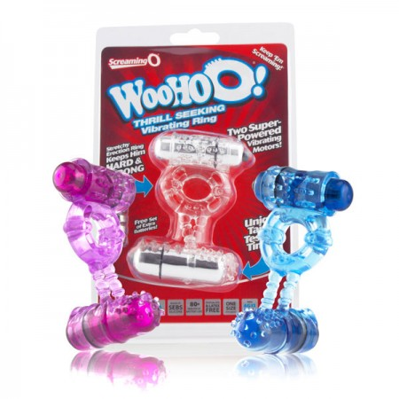 Screaming O Woo Hoo Dual-Vibrating Ring