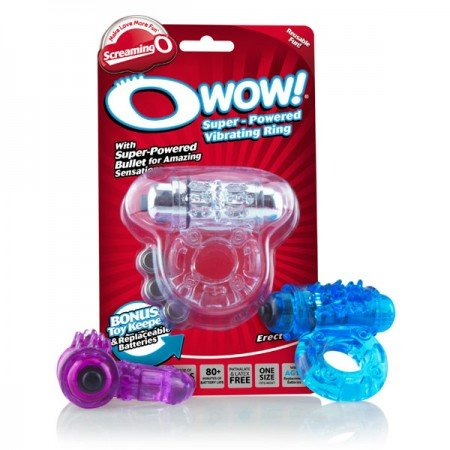 The Screaming O Wow super-powered vibrating ring