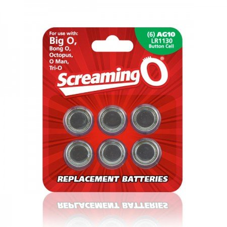 The Screaming O AG10 Batteries