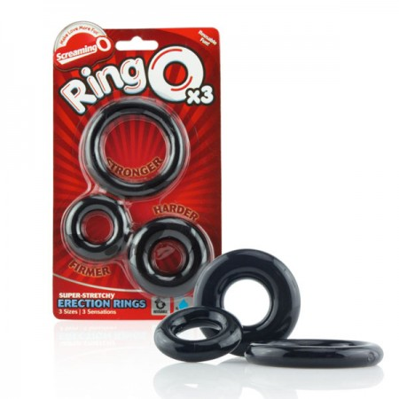 The Screaming O RingO 3pk Erection Rings