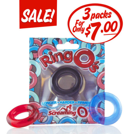 3 Packs of RingOs for $7