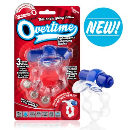 Overtime Vibrating Ring