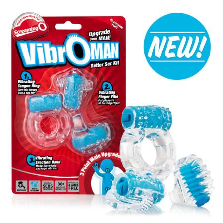 VibrOman Pleasure Kit